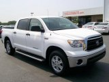 2010 Super White Toyota Tundra CrewMax 4x4 #30752483