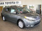 2011 Predawn Gray Mica Toyota Sienna Limited #30752487