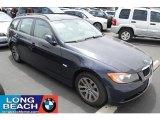 2007 Monaco Blue Metallic BMW 3 Series 328xi Wagon #30770028