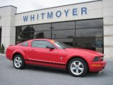 2007 Torch Red Ford Mustang V6 Premium Coupe #30770243