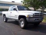 2001 Bright White Dodge Ram 1500 SLT Club Cab 4x4 #30770056
