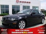 2005 Jet Black BMW 3 Series 325i Coupe #30769899
