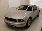 2005 Satin Silver Metallic Ford Mustang V6 Deluxe Coupe #30770293