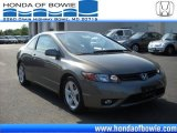2007 Galaxy Gray Metallic Honda Civic EX Coupe #30769800