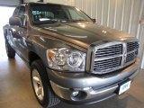 2007 Mineral Gray Metallic Dodge Ram 1500 Big Horn Edition Quad Cab 4x4 #30770197