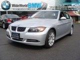 2008 Titanium Silver Metallic BMW 3 Series 335i Sedan #30769804