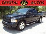 2003 Black Dodge Ram 1500 SLT Quad Cab #30770325
