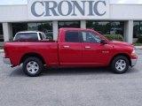 2010 Inferno Red Crystal Pearl Dodge Ram 1500 SLT Quad Cab #30769975