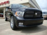 2010 Brilliant Black Crystal Pearl Dodge Ram 1500 Sport Quad Cab #30770218