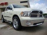 2010 Stone White Dodge Ram 1500 Big Horn Crew Cab 4x4 #30770221