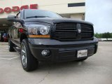 2006 Brilliant Black Crystal Pearl Dodge Ram 1500 Night Runner Quad Cab 4x4 #30770225