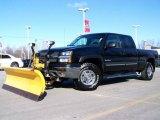 2003 Black Chevrolet Silverado 1500 HD Crew Cab 4x4 #3058537
