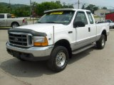 2000 Oxford White Ford F250 Super Duty XLT Extended Cab 4x4 #30816375