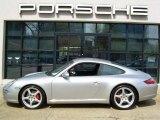 2007 Arctic Silver Metallic Porsche 911 Carrera S Coupe #30816973