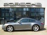 2007 Meteor Grey Metallic Porsche 911 Carrera 4 Coupe #30816974