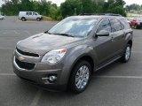2010 Mocha Steel Metallic Chevrolet Equinox LT #30816714