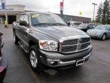 2007 Mineral Gray Metallic Dodge Ram 1500 SLT Quad Cab 4x4 #30817010