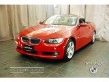2007 Crimson Red BMW 3 Series 328i Convertible #30816149
