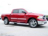 2010 Inferno Red Crystal Pearl Dodge Ram 1500 Big Horn Crew Cab 4x4 #30816157
