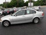 2004 Titanium Silver Metallic BMW 3 Series 325i Sedan #30816740