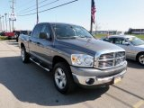 2007 Mineral Gray Metallic Dodge Ram 1500 SLT Quad Cab 4x4 #30817045