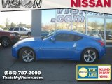2009 Monterey Blue Nissan 370Z Touring Coupe #30817086