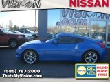 2009 Monterey Blue Nissan 370Z Sport Touring Coupe #30817088