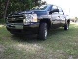 2009 Black Chevrolet Silverado 1500 LT Crew Cab #30816513