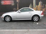 2001 Brilliant Silver Metallic Mercedes-Benz SLK 230 Kompressor Roadster #3060492