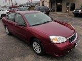 2007 Sport Red Metallic Chevrolet Malibu LS Sedan #30817139