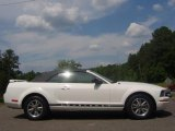 2005 Performance White Ford Mustang V6 Premium Convertible #30816217