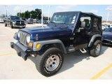 2006 Midnight Blue Pearl Jeep Wrangler X 4x4 #30816565
