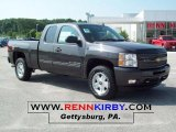 2010 Taupe Gray Metallic Chevrolet Silverado 1500 LT Extended Cab 4x4 #30816579