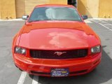 2006 Torch Red Ford Mustang V6 Premium Coupe #30816822