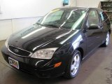 2005 Pitch Black Ford Focus ZX3 SES Coupe #30816846