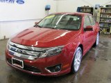 2010 Sangria Red Metallic Ford Fusion SEL #30816858