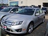 2010 Brilliant Silver Metallic Ford Fusion Sport #30816256