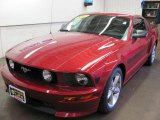 2007 Redfire Metallic Ford Mustang GT/CS California Special Coupe #30816883