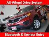 2011 Spicy Red Kia Sorento LX AWD #30816305