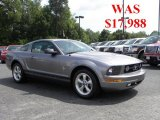 2007 Tungsten Grey Metallic Ford Mustang V6 Premium Coupe #30816312