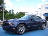 2011 Kona Blue Metallic Ford Mustang V6 Premium Convertible #30894303