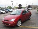 2003 Infra-Red Ford Focus ZTS Sedan #30894583