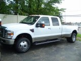 2010 Oxford White Ford F350 Super Duty King Ranch Crew Cab 4x4 Dually #30894313