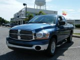 2006 Atlantic Blue Pearl Dodge Ram 1500 SLT Quad Cab #30894326