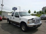 2002 Oxford White Ford F250 Super Duty Lariat Crew Cab 4x4 #30894341