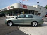 2008 Moss Green Metallic Ford Fusion SE #30894639