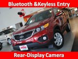 2011 Spicy Red Kia Sorento LX #30894350