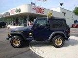 2006 Midnight Blue Pearl Jeep Wrangler Sport 4x4 Golden Eagle #30894641