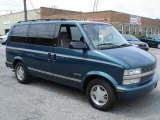 1996 Medium Dark Teal Metallic Chevrolet Astro LT Passenger Van #30894642