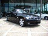 2009 Jet Black BMW 3 Series 328i Convertible #30894383